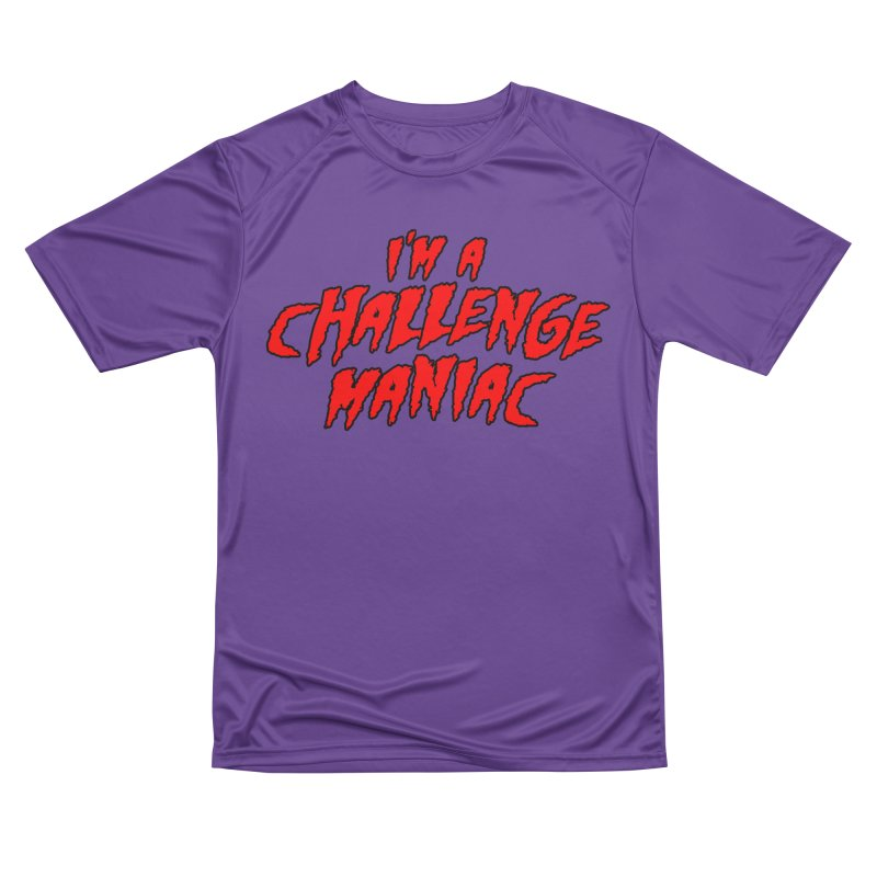 Challenge Maniac Men's Performance T-Shirt by Challenge Mania Shop
