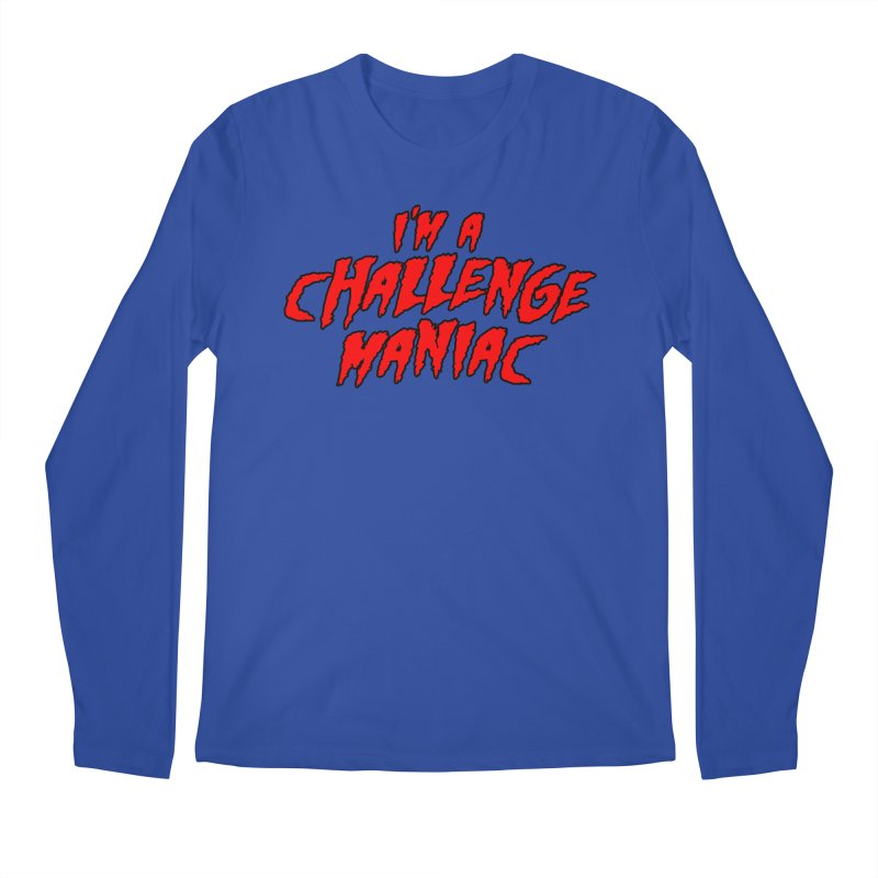 Challenge Maniac Men's Regular Longsleeve T-Shirt by Challenge Mania Shop