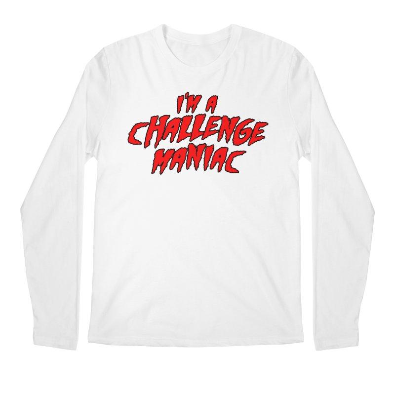 Challenge Maniac Men's Regular Longsleeve T-Shirt by Challenge Mania Shop