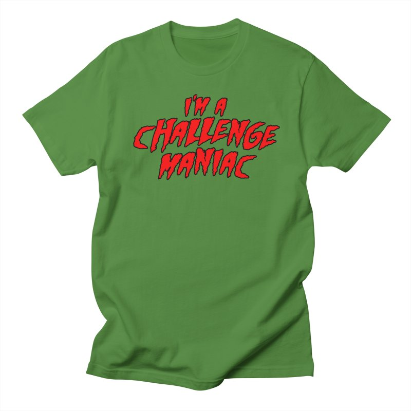 Challenge Maniac Women's Regular Unisex T-Shirt by Challenge Mania Shop