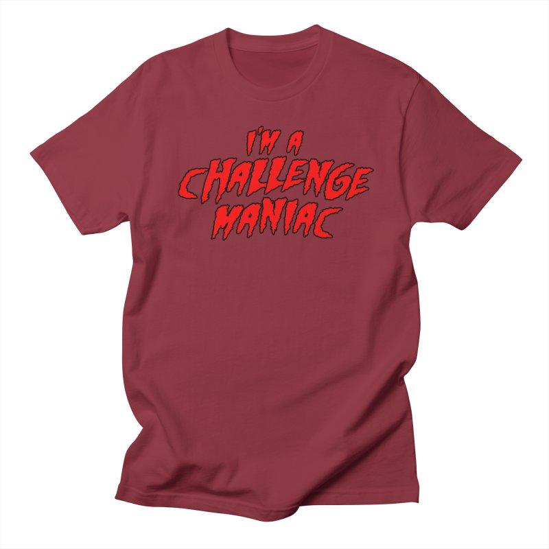 Challenge Maniac Men's Regular T-Shirt by Challenge Mania Shop