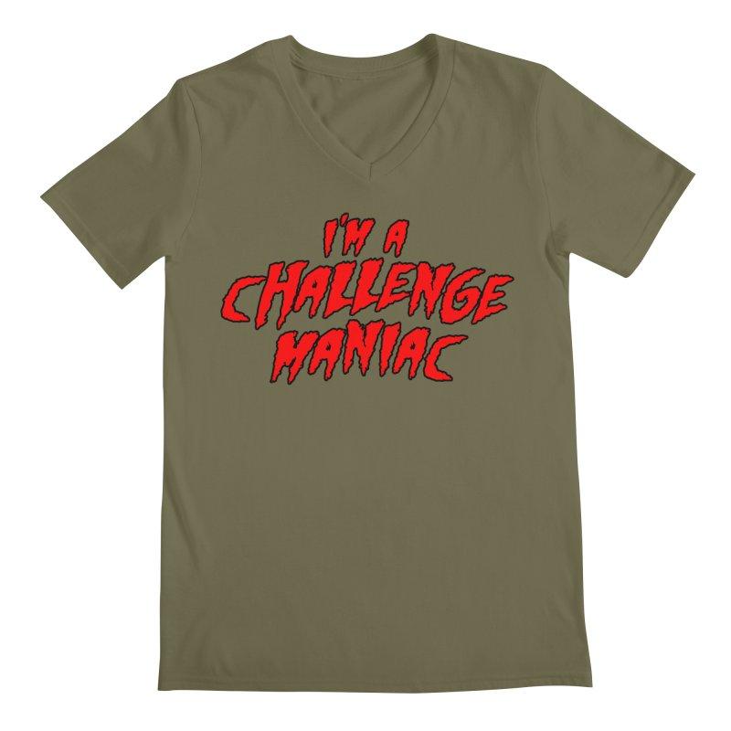 Challenge Maniac Men's Regular V-Neck by Challenge Mania Shop
