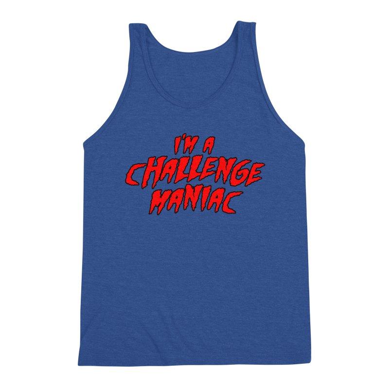 Challenge Maniac Men's Tank by Challenge Mania Shop