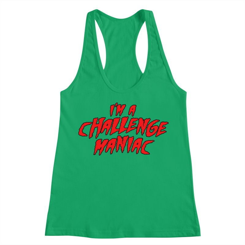 Challenge Maniac Women's Tank by Challenge Mania Shop