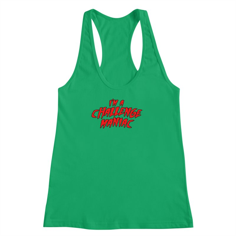Challenge Maniac Women's Tank by Challenge Mania Shop