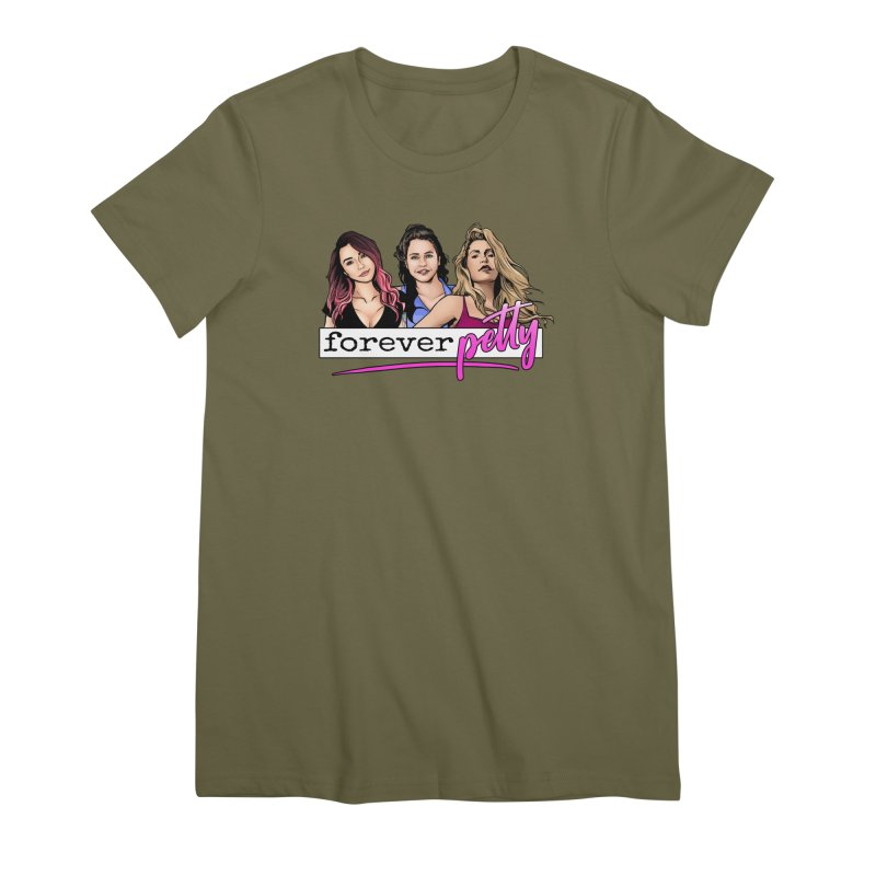 Forever Petty Women's Premium T-Shirt by Challenge Mania Shop