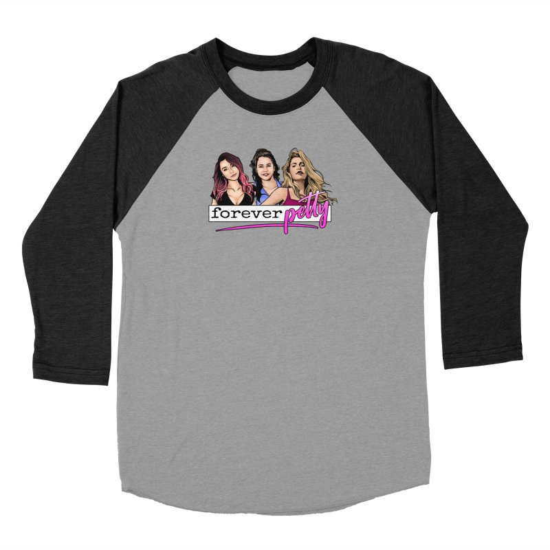 Forever Petty Women's Baseball Triblend Longsleeve T-Shirt by Challenge Mania Shop