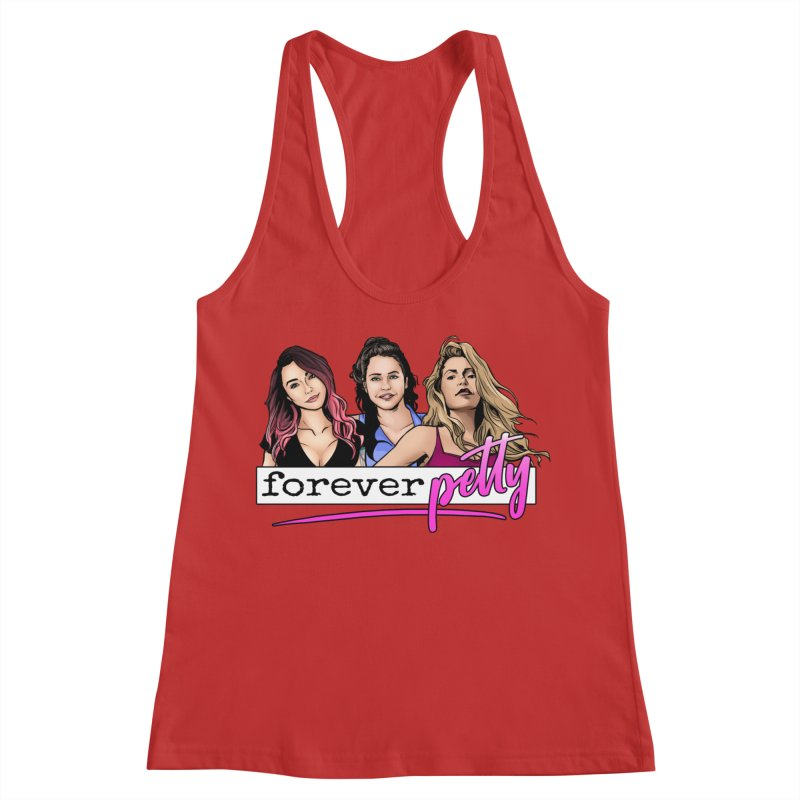 Forever Petty Women's Racerback Tank by Challenge Mania Shop