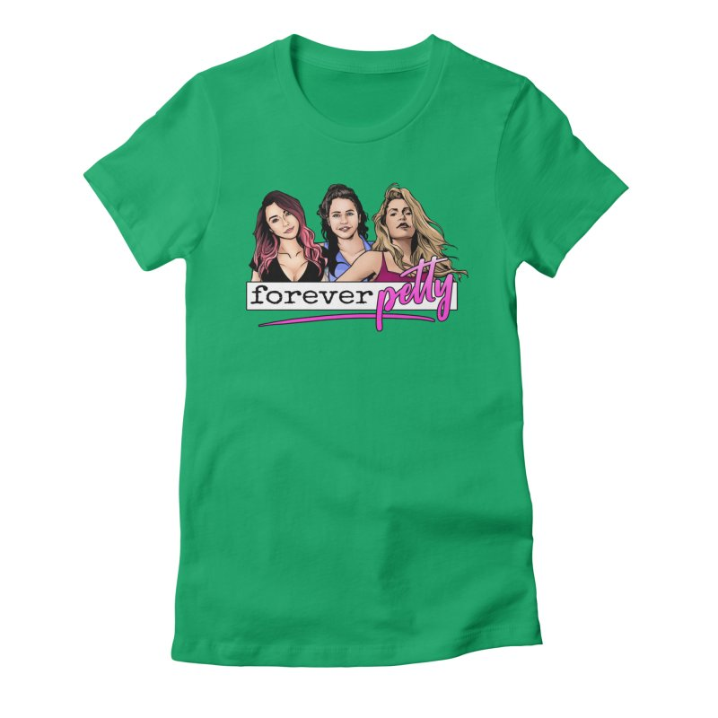 Forever Petty Women's Fitted T-Shirt by Challenge Mania Shop