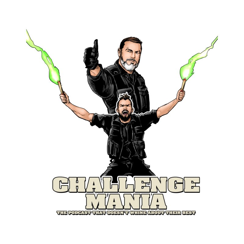 Challenge Mania Rocks! Men's V-Neck by Challenge Mania Shop
