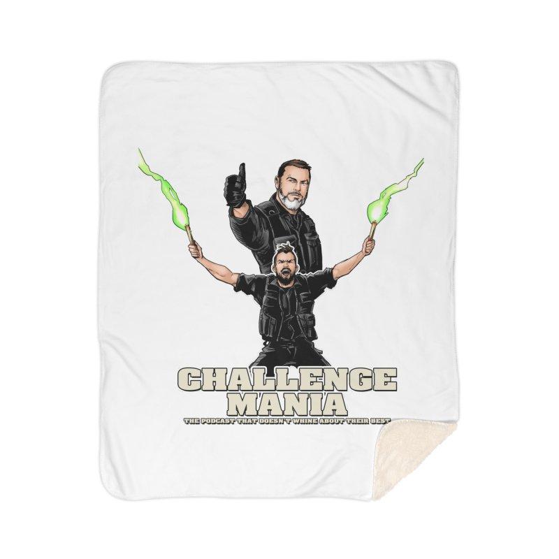 Challenge Mania Rocks! Home Sherpa Blanket Blanket by Challenge Mania Shop