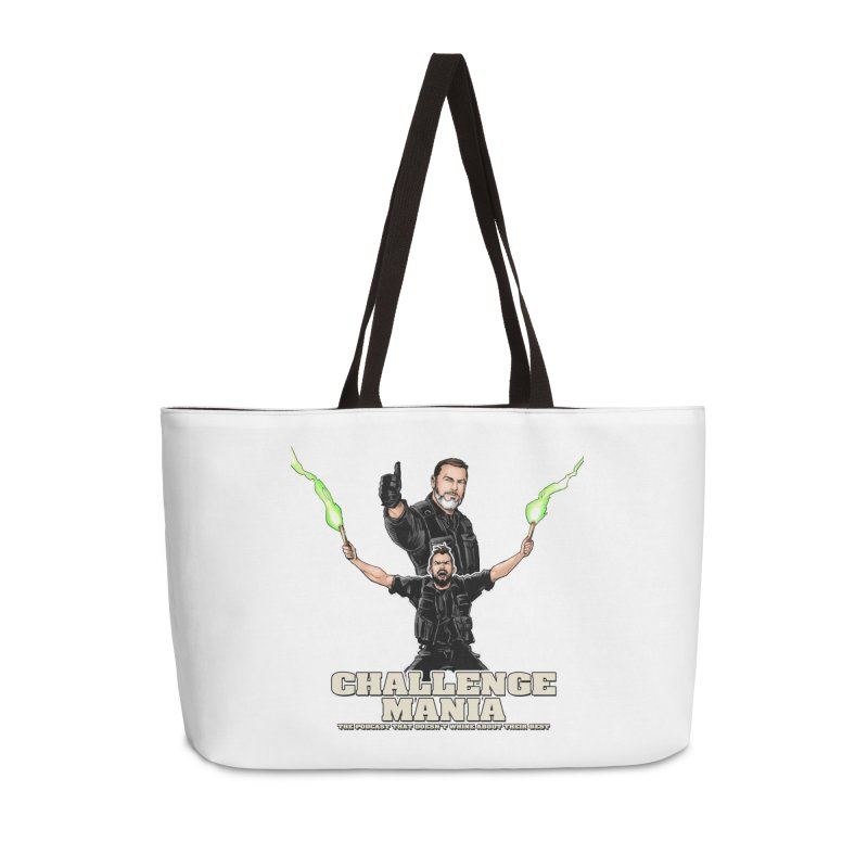 Challenge Mania Rocks! Accessories Weekender Bag Bag by Challenge Mania Shop