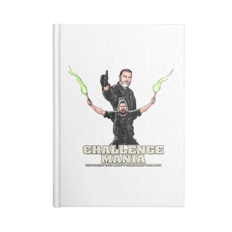 Challenge Mania Rocks! Accessories Lined Journal Notebook by Challenge Mania Shop