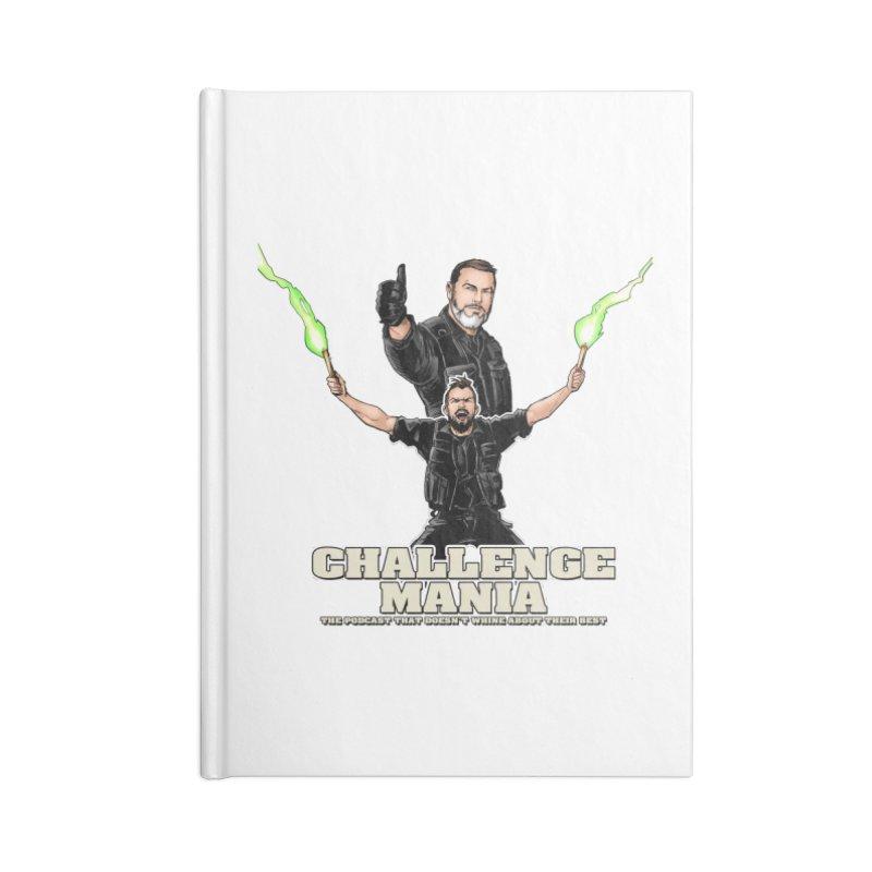 Challenge Mania Rocks! Accessories Blank Journal Notebook by Challenge Mania Shop