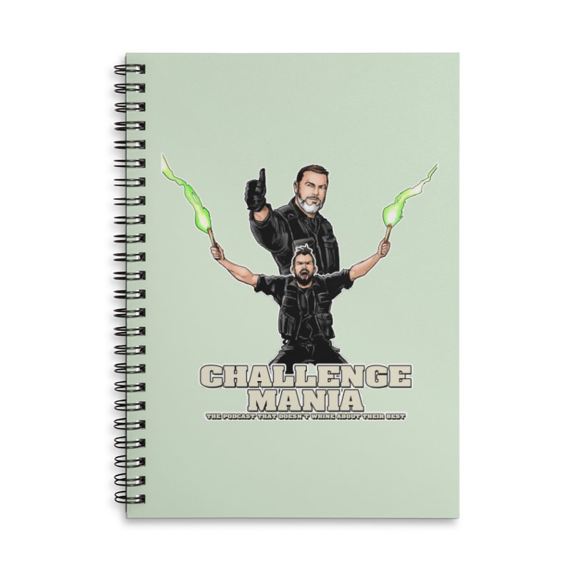 Challenge Mania Rocks! Accessories Notebook by Challenge Mania Shop