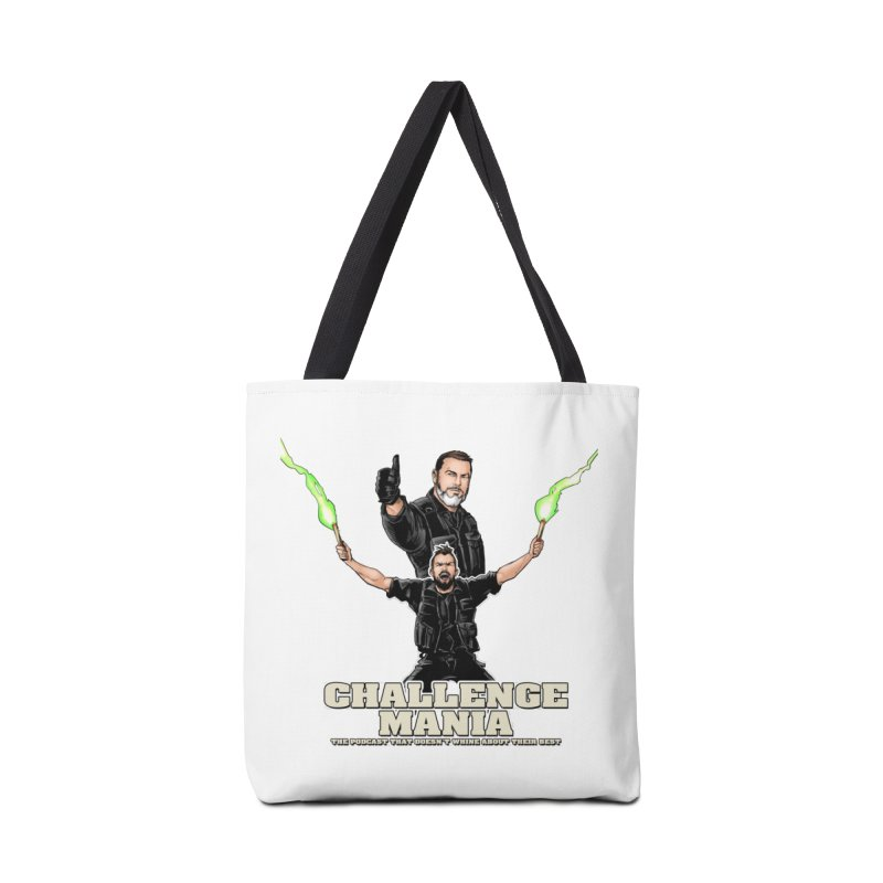 Challenge Mania Rocks! Accessories Tote Bag Bag by Challenge Mania Shop