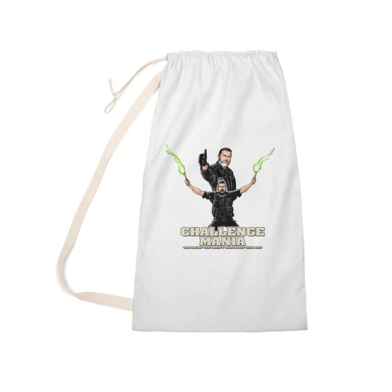 Challenge Mania Rocks! Accessories Laundry Bag Bag by Challenge Mania Shop