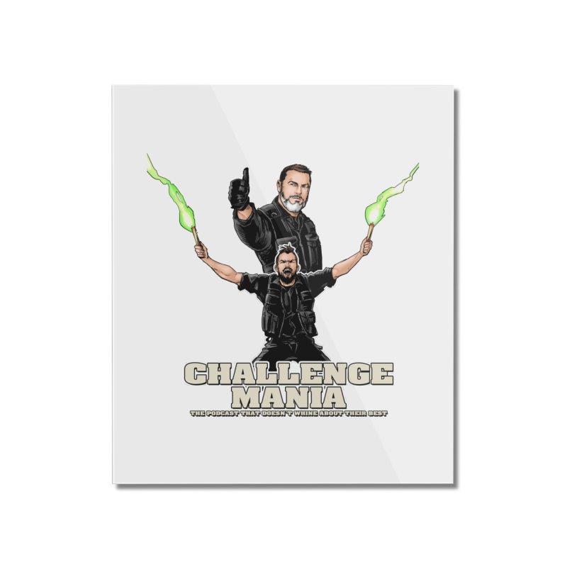 Challenge Mania Rocks! Home Mounted Acrylic Print by Challenge Mania Shop