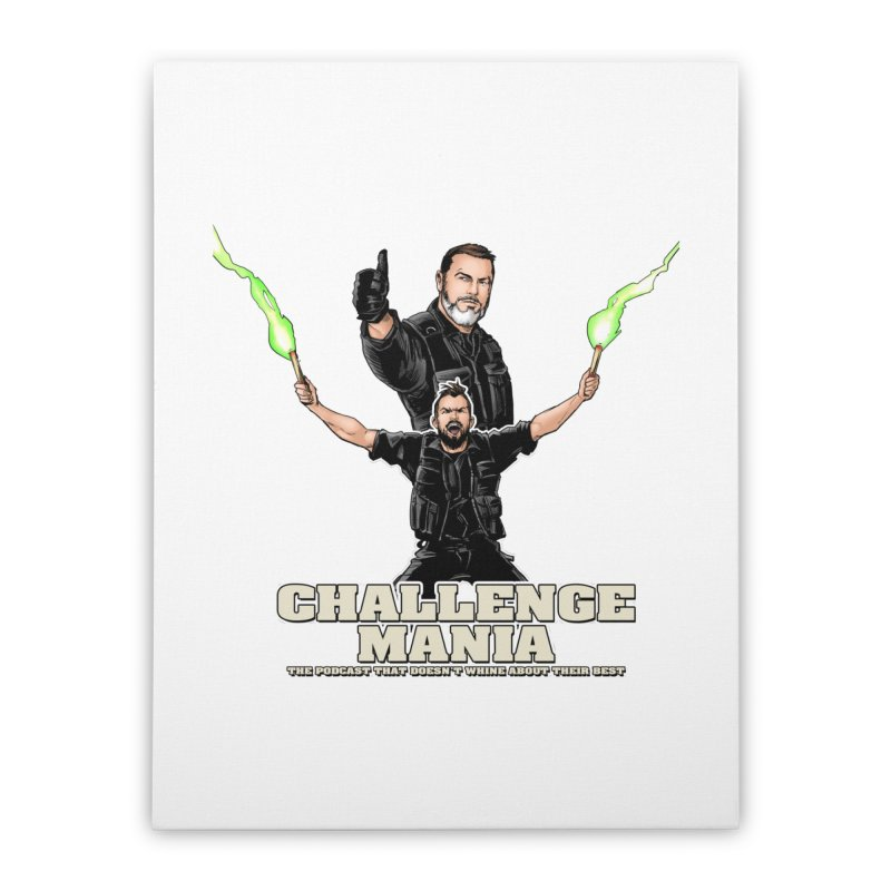 Challenge Mania Rocks! Home Stretched Canvas by Challenge Mania Shop