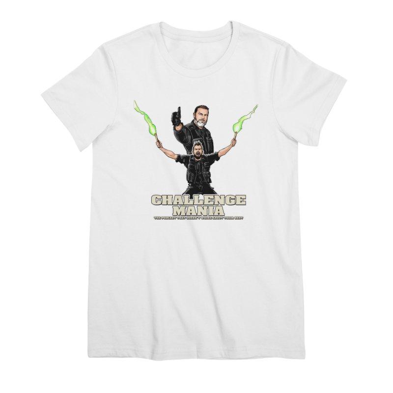 Challenge Mania Rocks! Women's Premium T-Shirt by Challenge Mania Shop