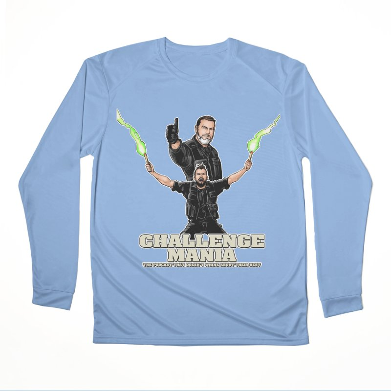 Challenge Mania Rocks! Men's Performance Longsleeve T-Shirt by Challenge Mania Shop
