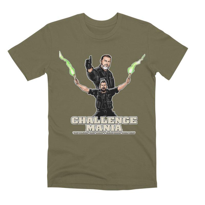 Challenge Mania Rocks! Men's Premium T-Shirt by Challenge Mania Shop