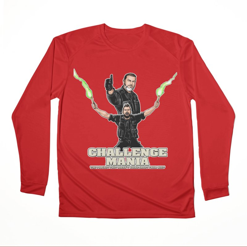 Challenge Mania Rocks! Women's Performance Unisex Longsleeve T-Shirt by Challenge Mania Shop