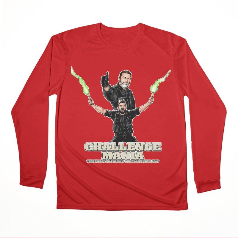 Challenge Mania Rocks! Men's Performance Longsleeve T-Shirt by Challenge Mania Shop