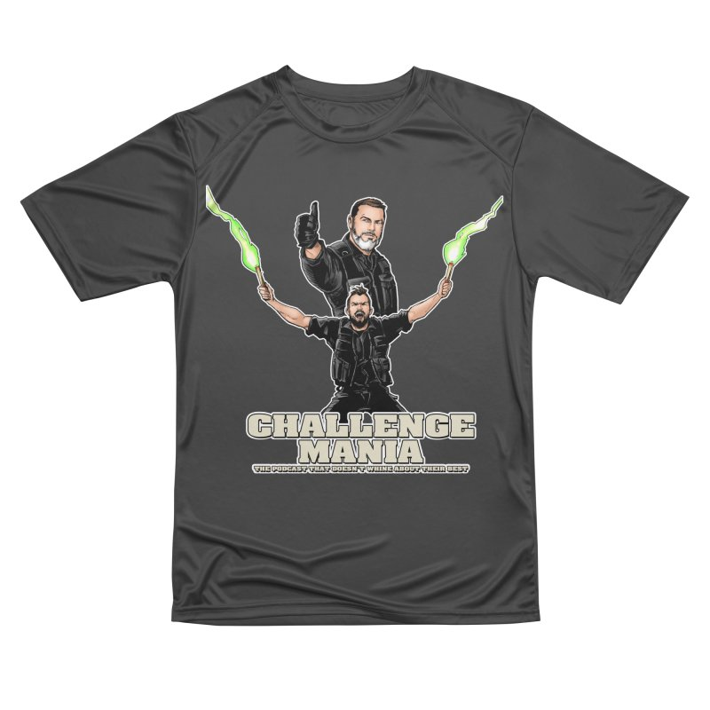 Challenge Mania Rocks! Women's Performance Unisex T-Shirt by Challenge Mania Shop