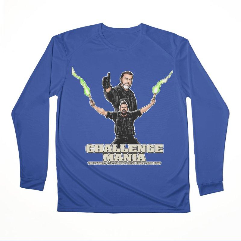 Challenge Mania Rocks! Women's Performance Unisex Longsleeve T-Shirt by Challenge Mania Shop