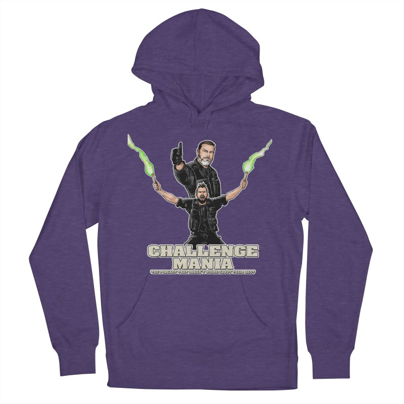 Challenge Mania Rocks! Women's French Terry Pullover Hoody by Challenge Mania Shop