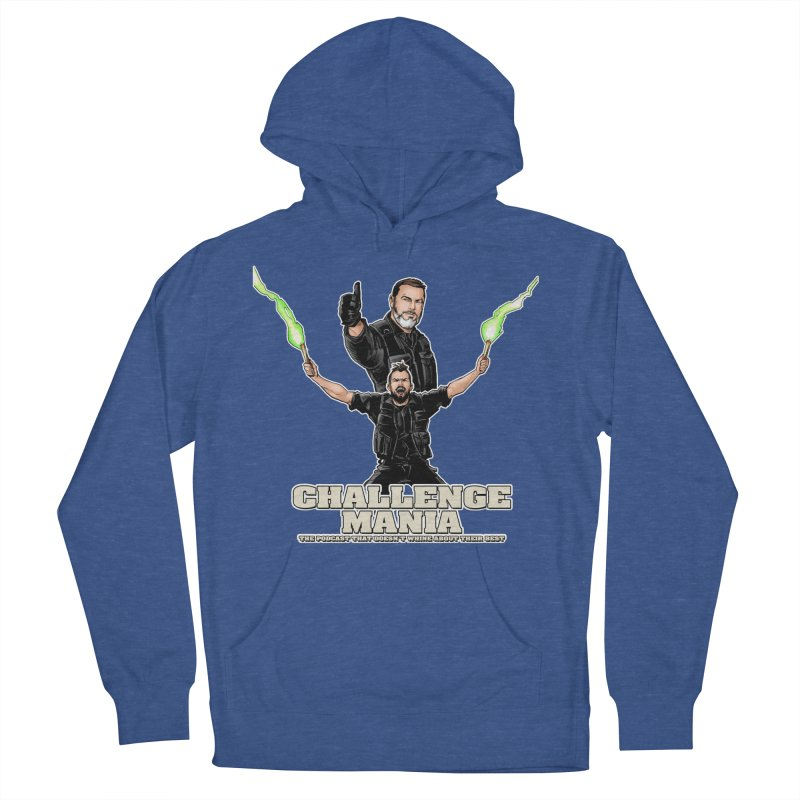 Challenge Mania Rocks! Men's French Terry Pullover Hoody by Challenge Mania Shop