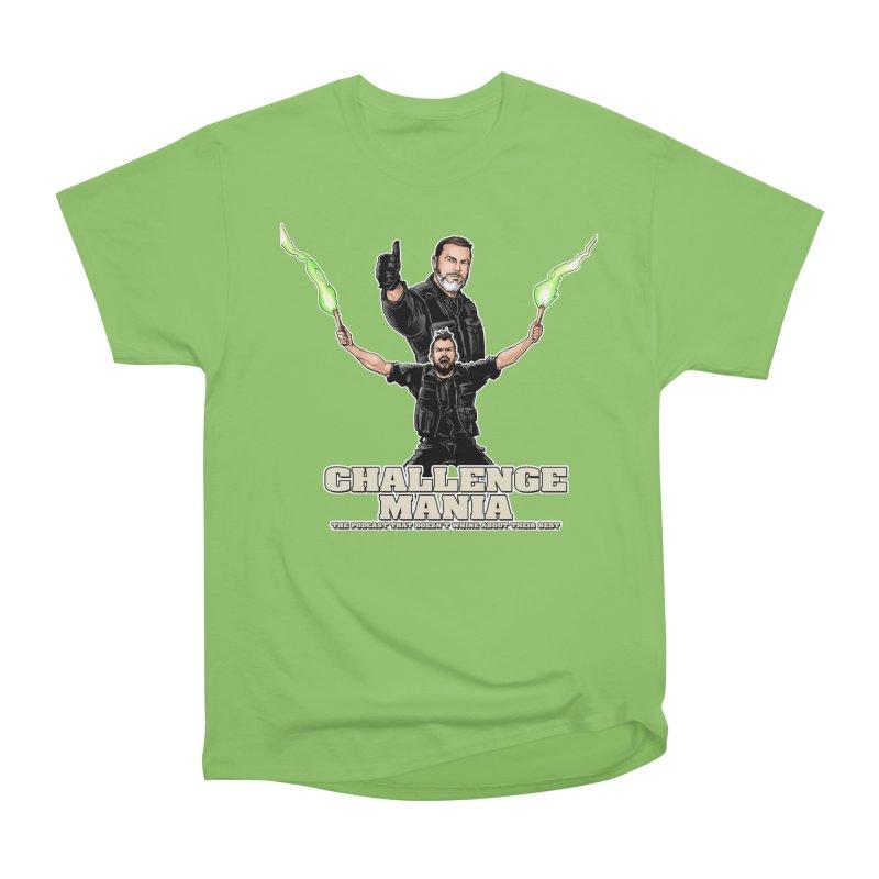 Challenge Mania Rocks! Women's Heavyweight Unisex T-Shirt by Challenge Mania Shop