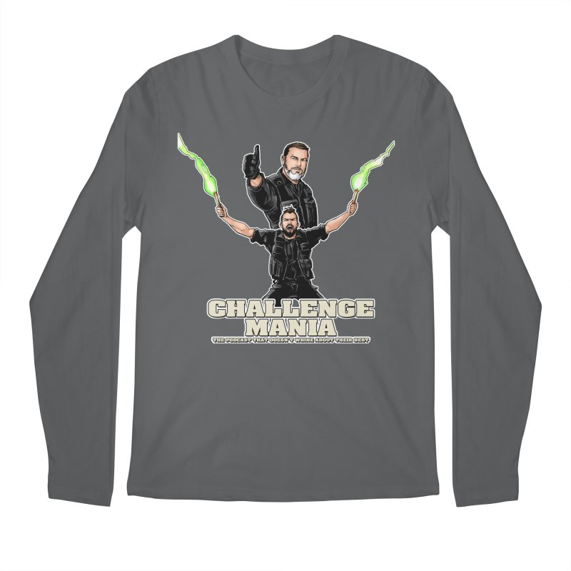Challenge Mania Rocks! Men's Longsleeve T-Shirt by Challenge Mania Shop