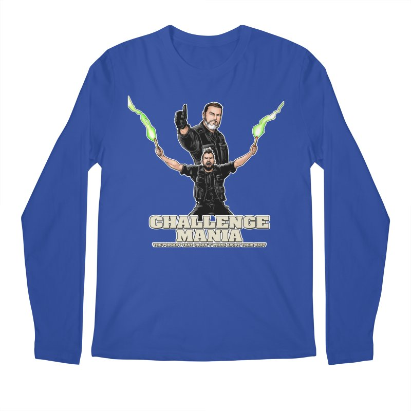 Challenge Mania Rocks! Men's Regular Longsleeve T-Shirt by Challenge Mania Shop
