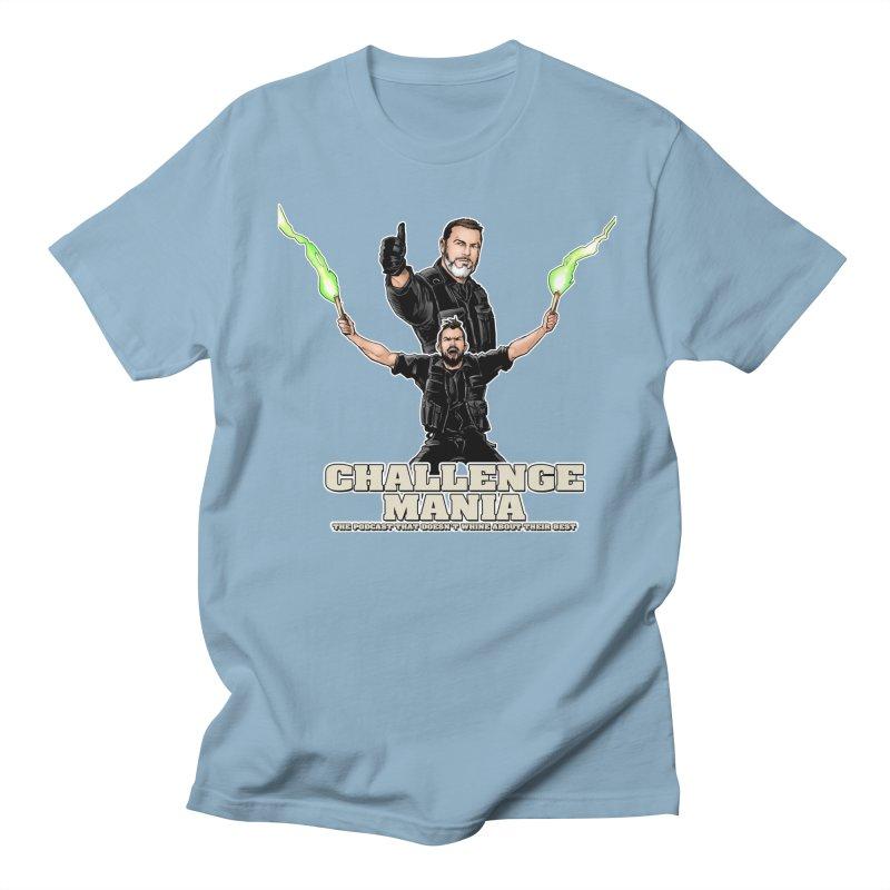 Challenge Mania Rocks! Men's T-Shirt by Challenge Mania Shop
