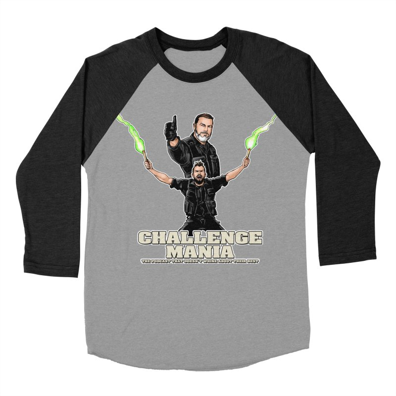 Challenge Mania Rocks! Women's Baseball Triblend Longsleeve T-Shirt by Challenge Mania Shop