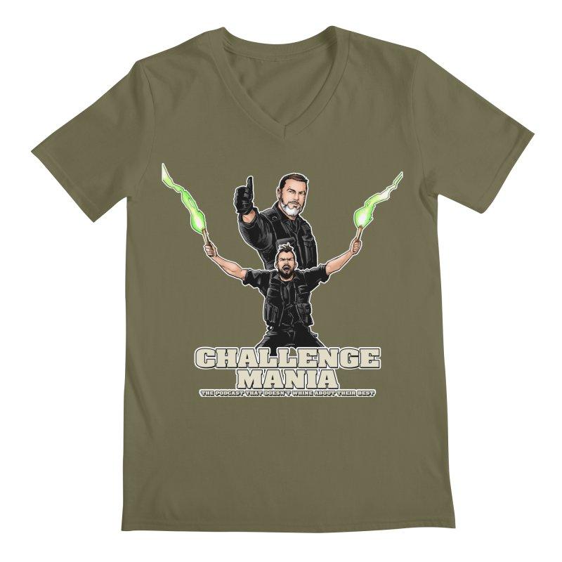 Challenge Mania Rocks! Men's Regular V-Neck by Challenge Mania Shop
