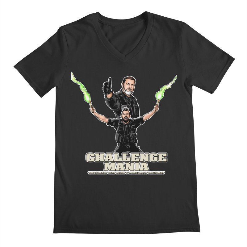 Challenge Mania Rocks! Men's Regular V-Neck by Challenge Mania Shop