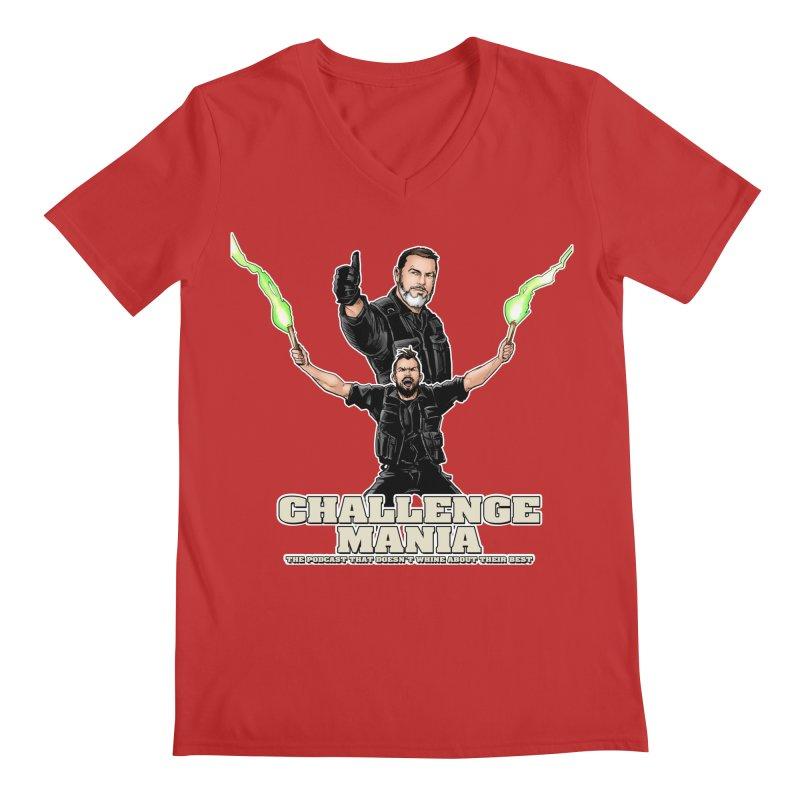 Challenge Mania Rocks! Men's V-Neck by Challenge Mania Shop