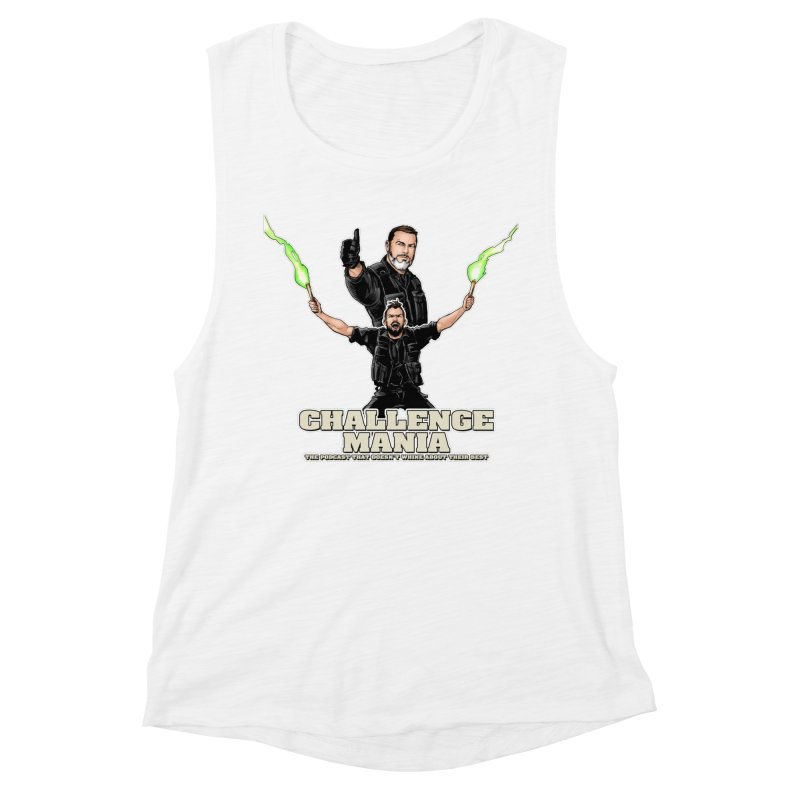 Challenge Mania Rocks! Women's Muscle Tank by Challenge Mania Shop