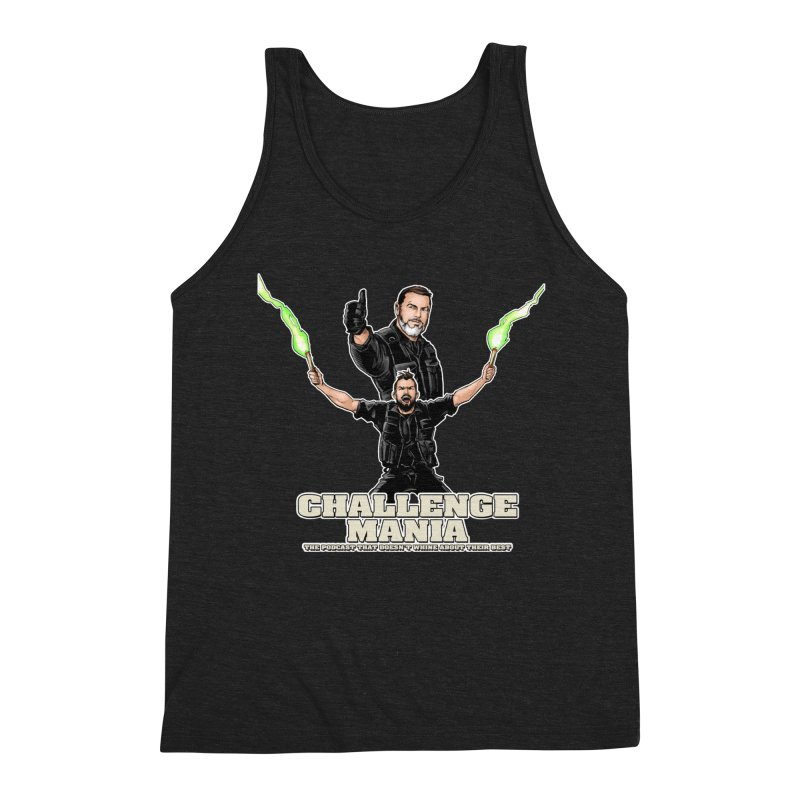 Challenge Mania Rocks! Men's Triblend Tank by Challenge Mania Shop