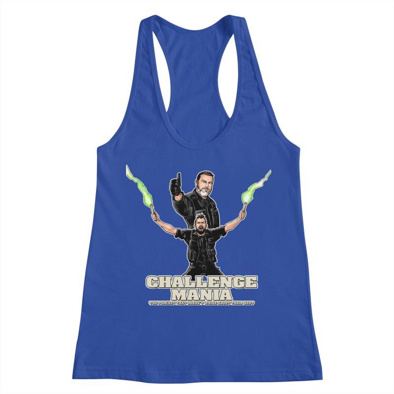 Challenge Mania Rocks! Women's Racerback Tank by Challenge Mania Shop