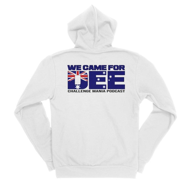 Come for DEE Men's Sponge Fleece Zip-Up Hoody by Challenge Mania Shop