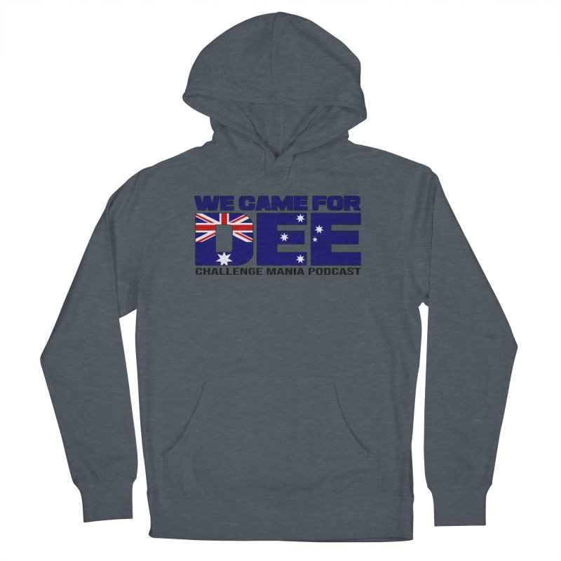 Come for DEE Men's French Terry Pullover Hoody by Challenge Mania Shop