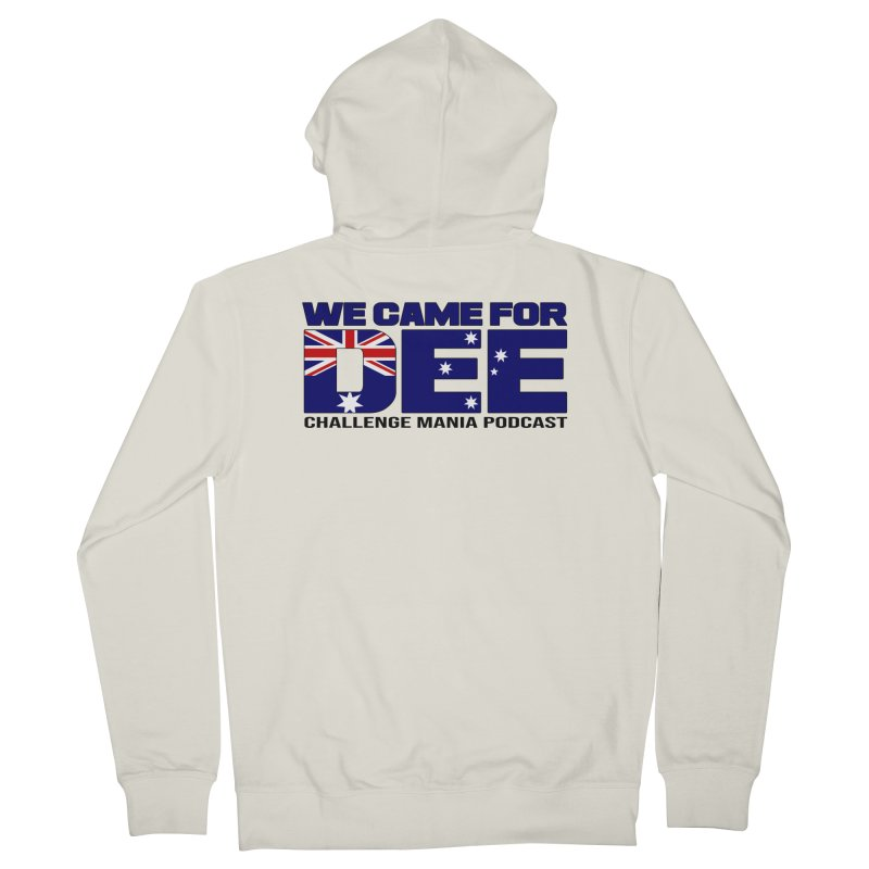 Come for DEE Women's French Terry Zip-Up Hoody by Challenge Mania Shop