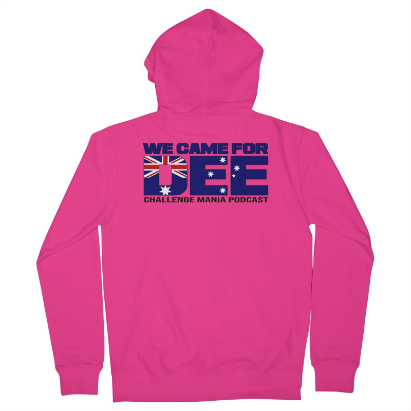 Come for DEE Men's French Terry Zip-Up Hoody by Challenge Mania Shop