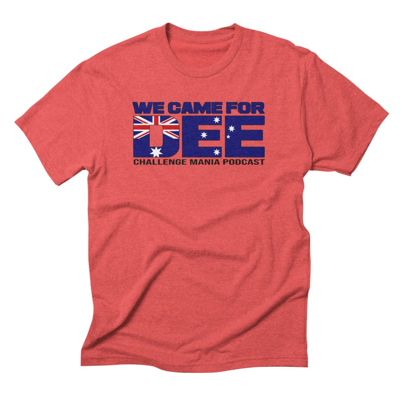 Come for DEE Men's Triblend T-Shirt by Challenge Mania Shop