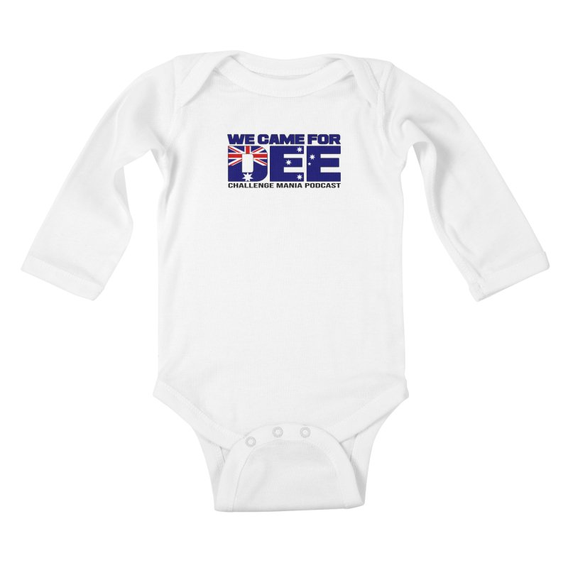 Come for DEE Kids Baby Longsleeve Bodysuit by Challenge Mania Shop