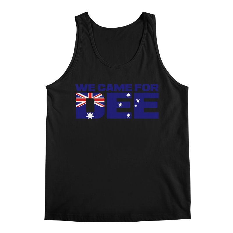 Come for DEE Men's Regular Tank by Challenge Mania Shop